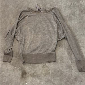 Tops - Sparkly grey sweater